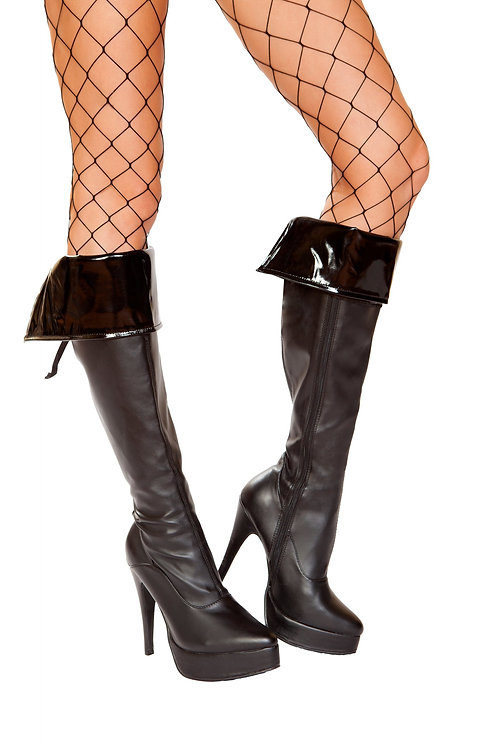 4951 - Pair of Vinyl Boot Cuffs