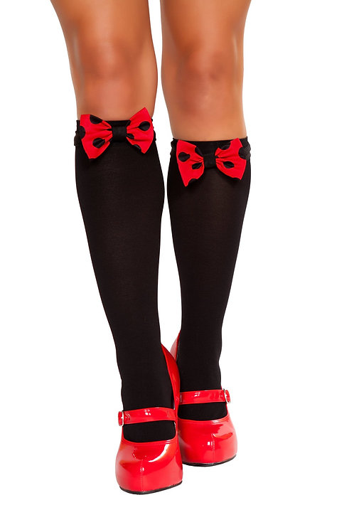 10091B - Mouse Bows for Stockings