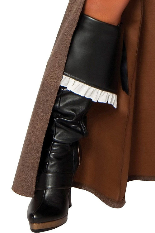 4242B - Delux Pirate Captain Boot Cover