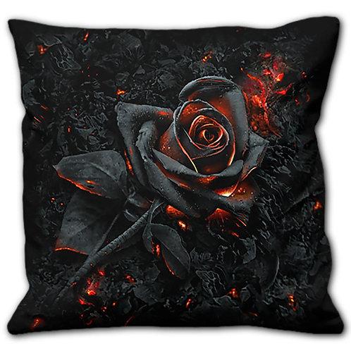 BURNT ROSE - Square Cushion
