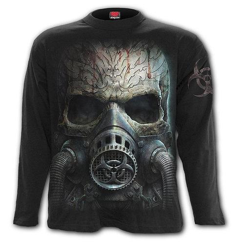 BIO-SKULL - Longsleeve T-Shirt Black