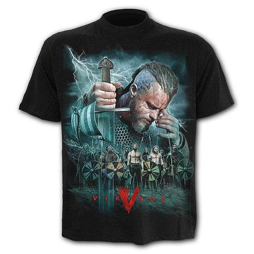 VIKINGS - BATTLE - T-Shirt Black