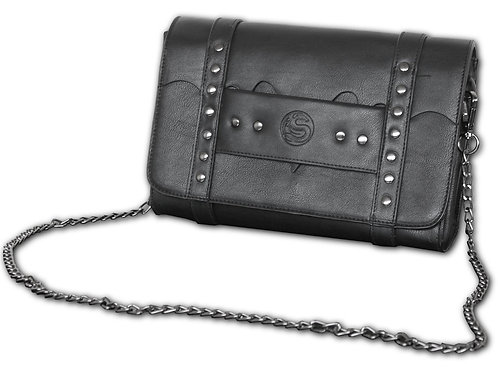 BAT WINGS - Clutch Bag - Top quality PU Leather Studded