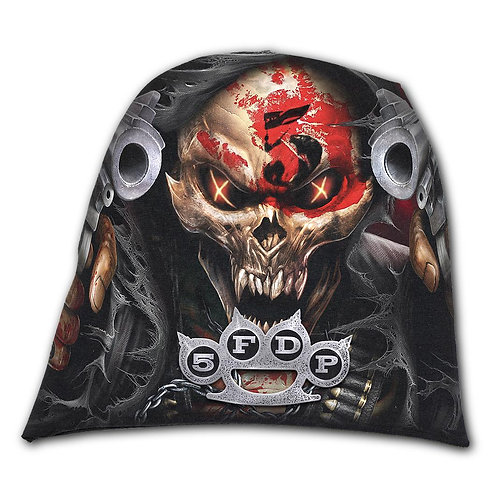 5FDP - ASSASSIN - Light Cotton Beanies Black