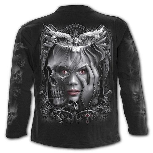 DARK FUSION - Longsleeve T-Shirt Black