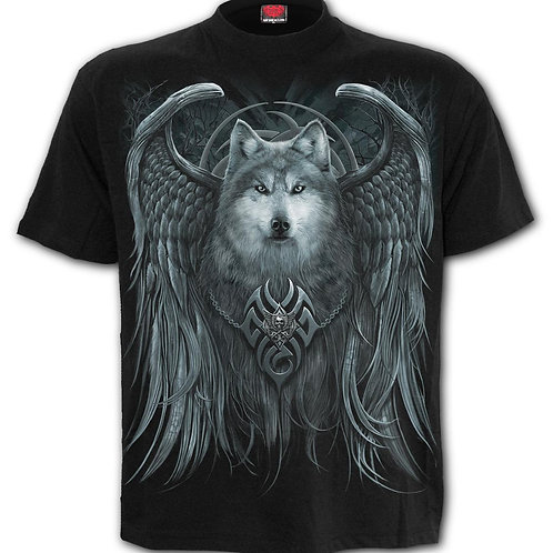 WOLF SPIRIT - T-Shirt Black