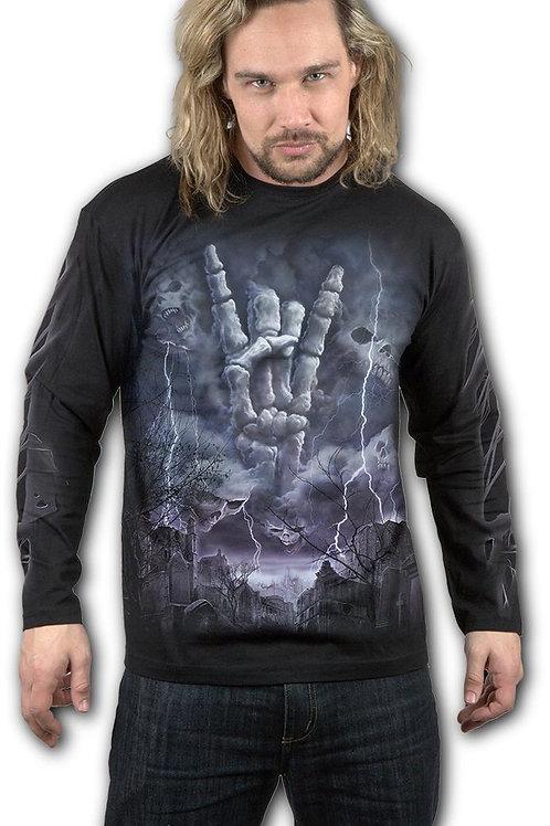 ROCK ETERNAL - Longsleeve T-Shirt Black