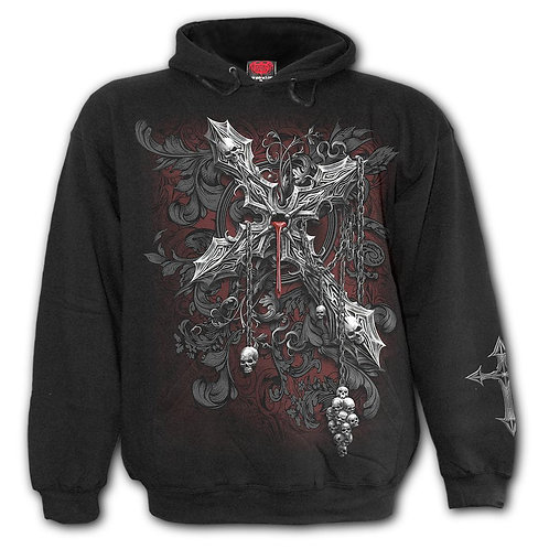 CROSS OF DARKNESS - Hoody Black (Plain)