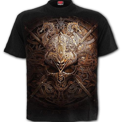 VIKING SHIELD - T-Shirt Black