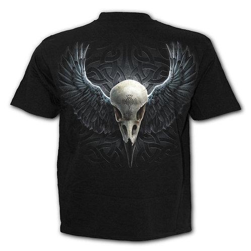 RAVEN CAGE - T-Shirt Black