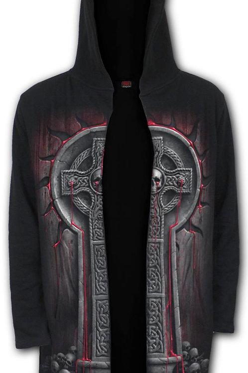 BLEEDING SOULS - Occult Hooded Cardigan