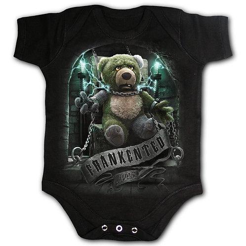 FRANKENTED - Baby Sleepsuit Black (Plain)