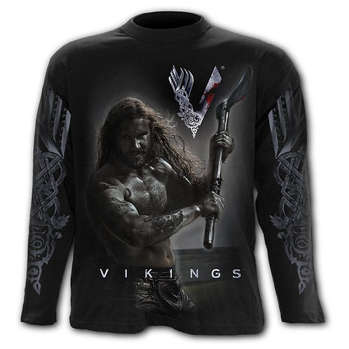 ROLLO AXE - KEEP CALM - Longsleeve T-Shirt Black