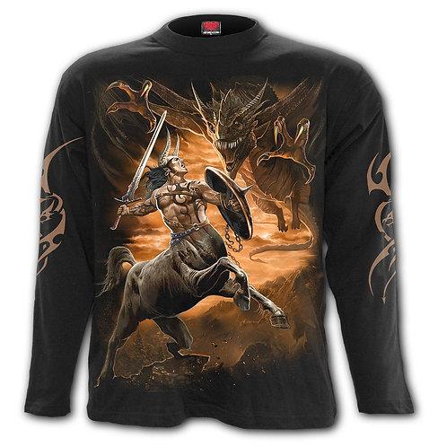 CENTAUR SLAYER - Longsleeve T-Shirt Black