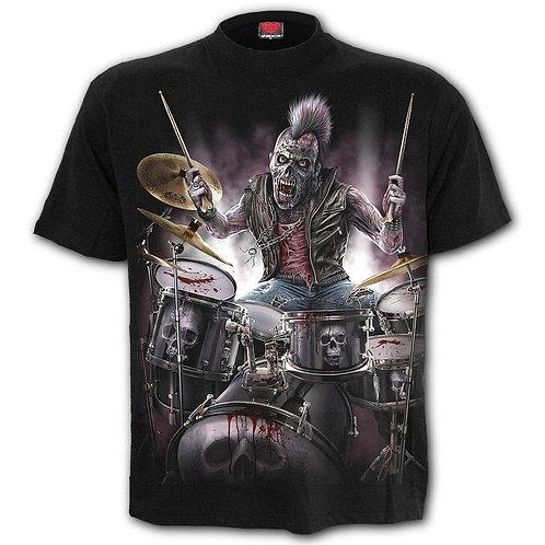ZOMBIE BACKBEAT - T-Shirt Black
