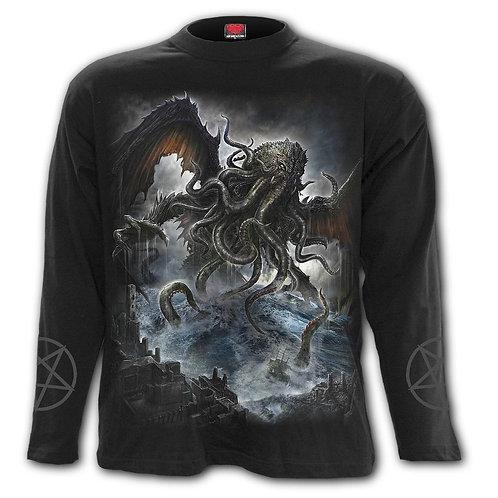 CTHULHU - Longsleeve T-Shirt Black