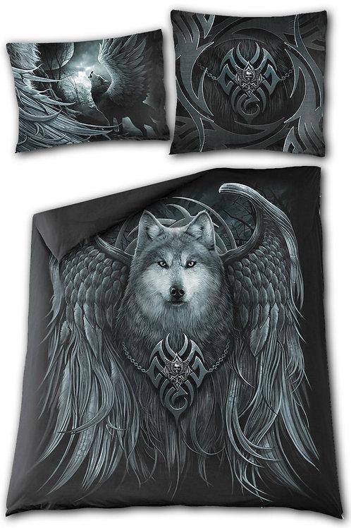 WOLF SPIRIT - Double Duvet Cover + UK And EU Pillow case