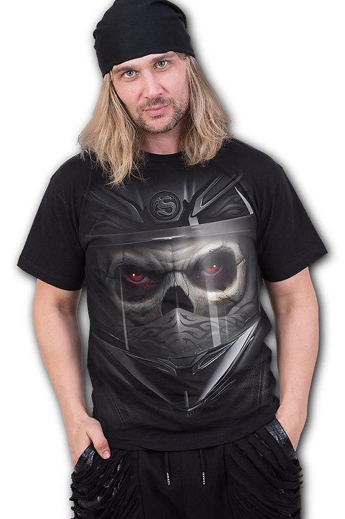 DEMON BIKER - T-Shirt Black