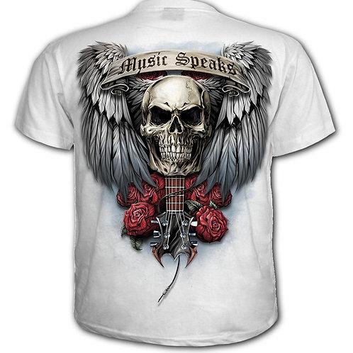 UNSPOKEN - T-Shirt White (Plain)