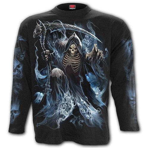 GHOST REAPER - Longsleeve T-Shirt Black