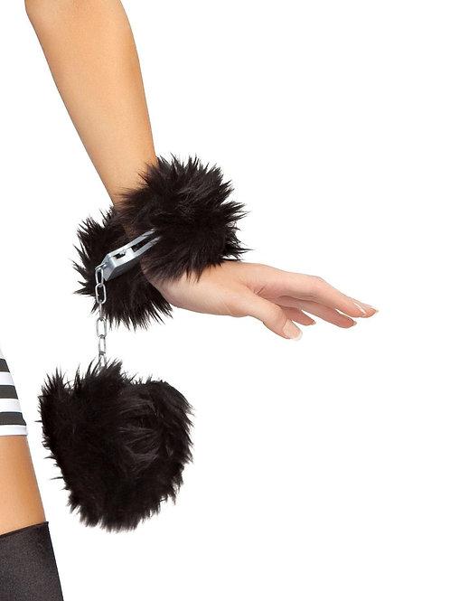 CU101 - Fur Trimmed Handcuffs