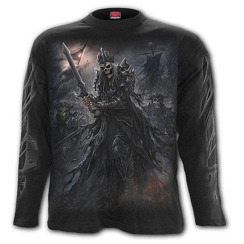 DEATH'S ARMY - Longsleeve T-Shirt Black