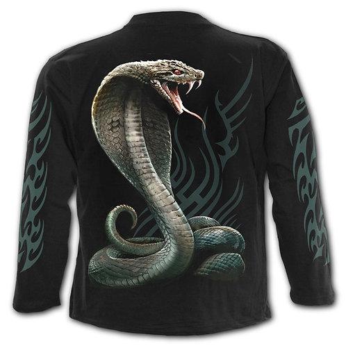 SERPENT TATTOO - Longsleeve T-Shirt Black