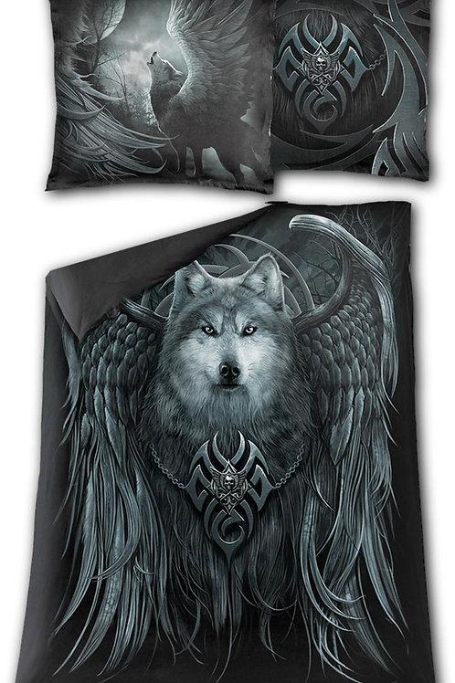 WOLF SPIRIT - Single Duvet Cover + UK And EU Pillow case