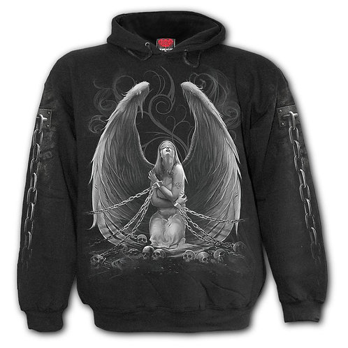 CAPTIVE SPIRITS - Hoody Black (Plain)