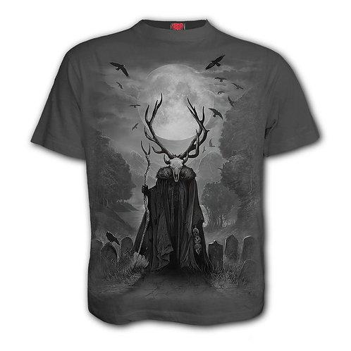 HORNED SPIRIT - T-Shirt Charcoal (Plain)