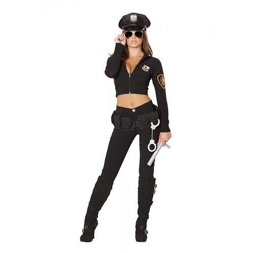 4501 - 6pc Seductive Cop Costume