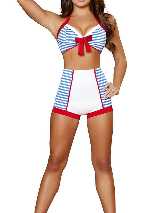 4395 - 3pc Playful Pinup Sailor