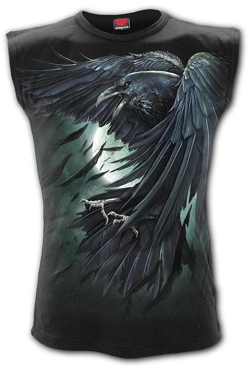 SHADOW RAVEN - Sleeveless T-Shirt Black (Plain)