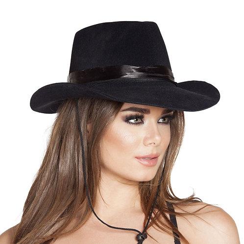H4571 Black Cowboy Hat