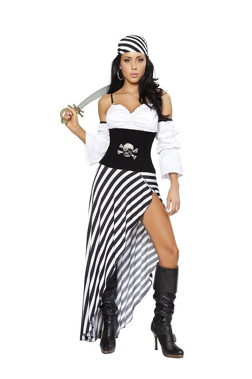 4244 - 6pc Pirate Lass