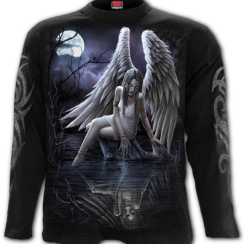 INNER SORROW - Longsleeve T-Shirt Black (Plain)