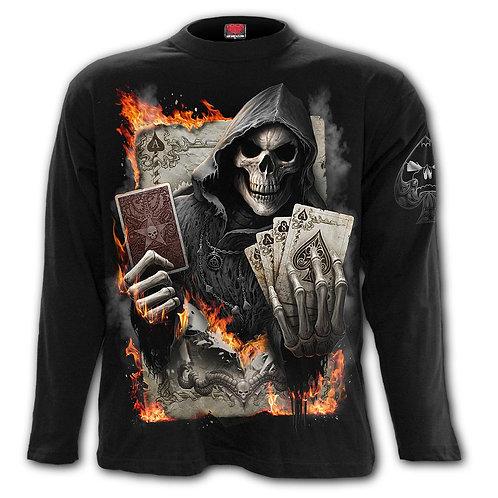 ACE REAPER - Longsleeve T-Shirt Black