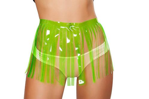 3257 - Fringed Skirt