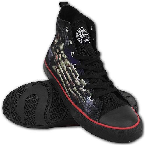 FOOT BONE - Sneakers - Men's High Top Laceup