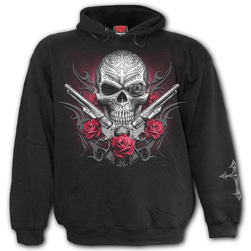 DEATH PISTOL - Hoody Black (Plain)