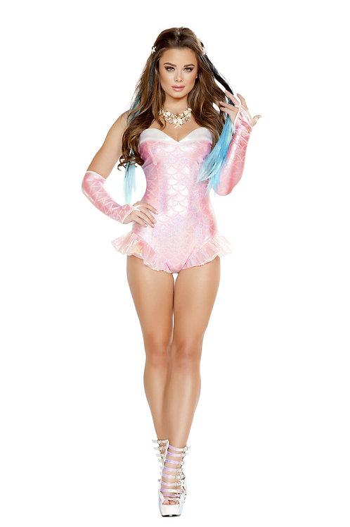 4661 - 1pc Pink Mermaid