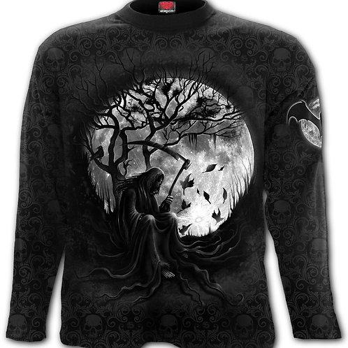 KILLING MOON - Scroll Impression Longsleeve T-Shirt