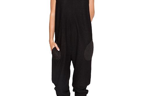 LI294 - Cozy & Comfy Pajama Jumpsuit with Pocket Details