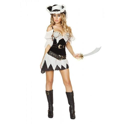 4528 - 5pc Sexy Shipwrecked Sailor Costume