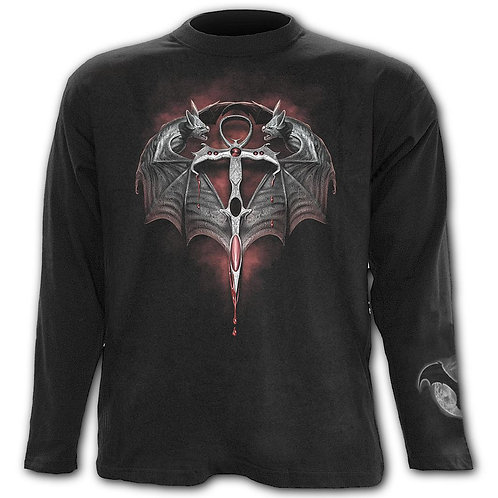 THE LORD OF DARKNESS - Longsleeve T-Shirt Black