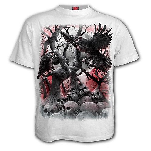 DARK ROOTS - T-Shirt White (Plain)