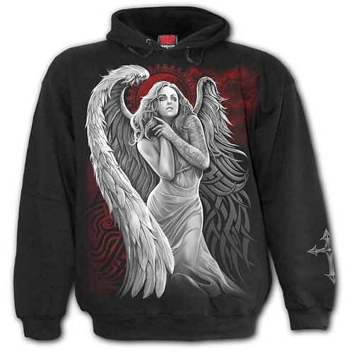 ANGEL DESPAIR - Hoody Black (Plain)