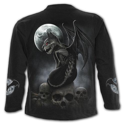VAMP CAT - Longsleeve T-Shirt Black