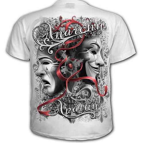 REBELLION - T-Shirt White (Plain)