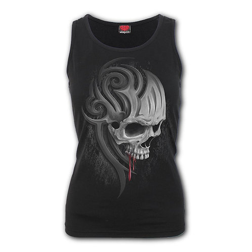 DEATH ROAR - Razor Back Top Black (Plain)